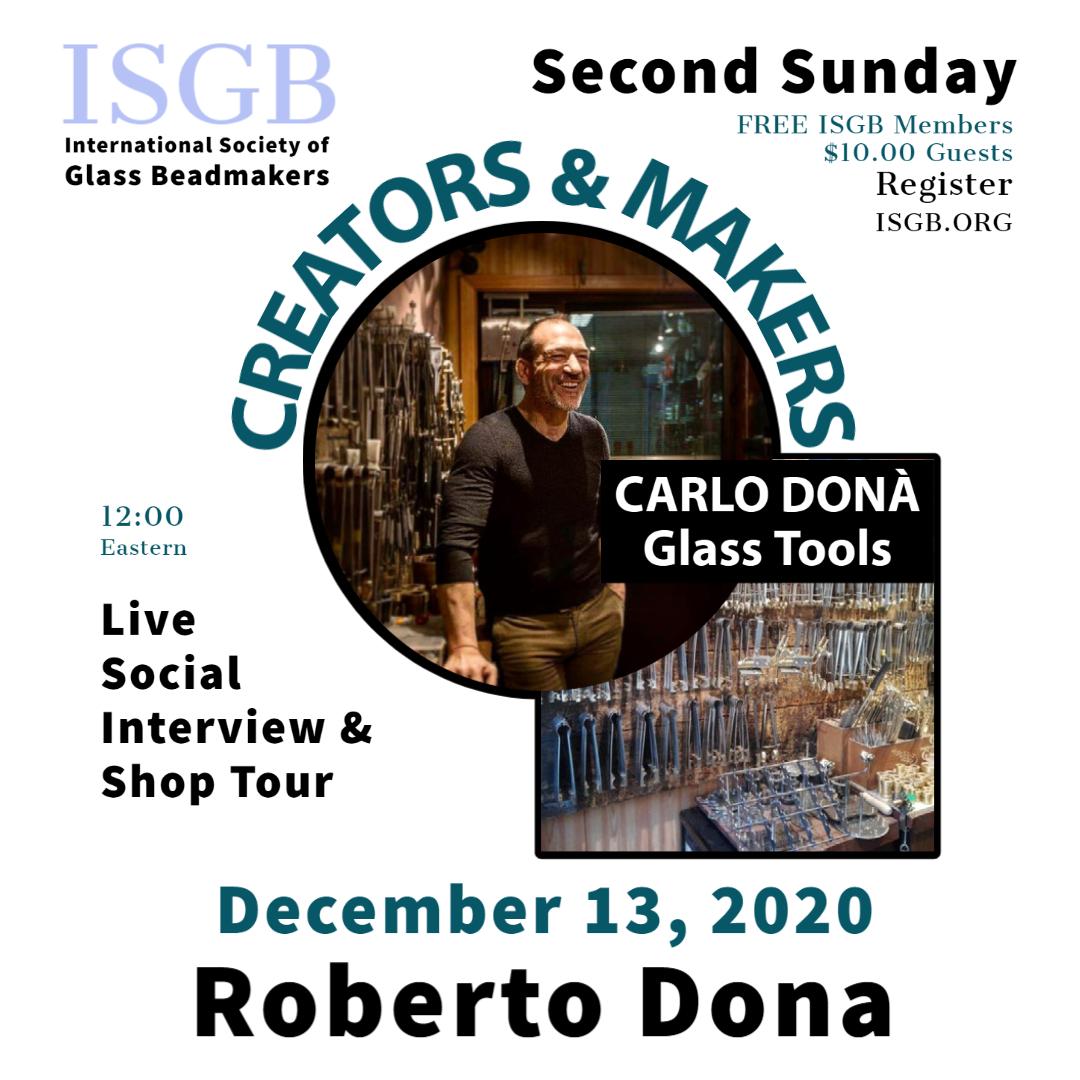 Creators & Makers Roberto Dona