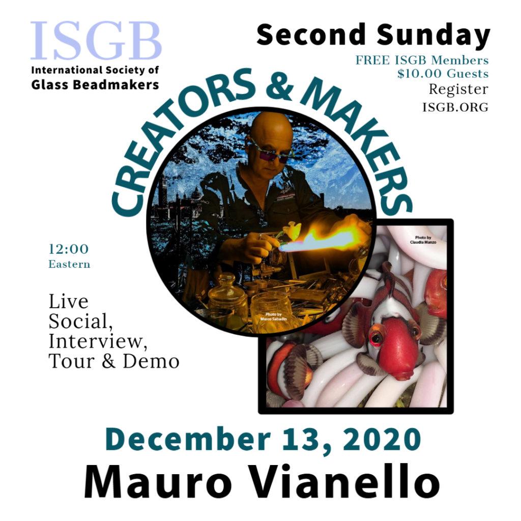 Creators & Makers MAURO VIANELLO with photo credits